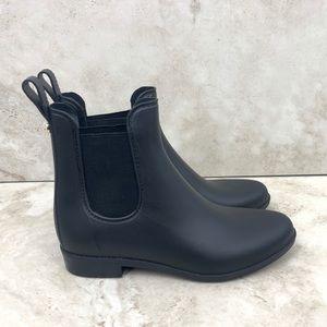 Sam Edelman Rain Boots Tinsley Black Pull On